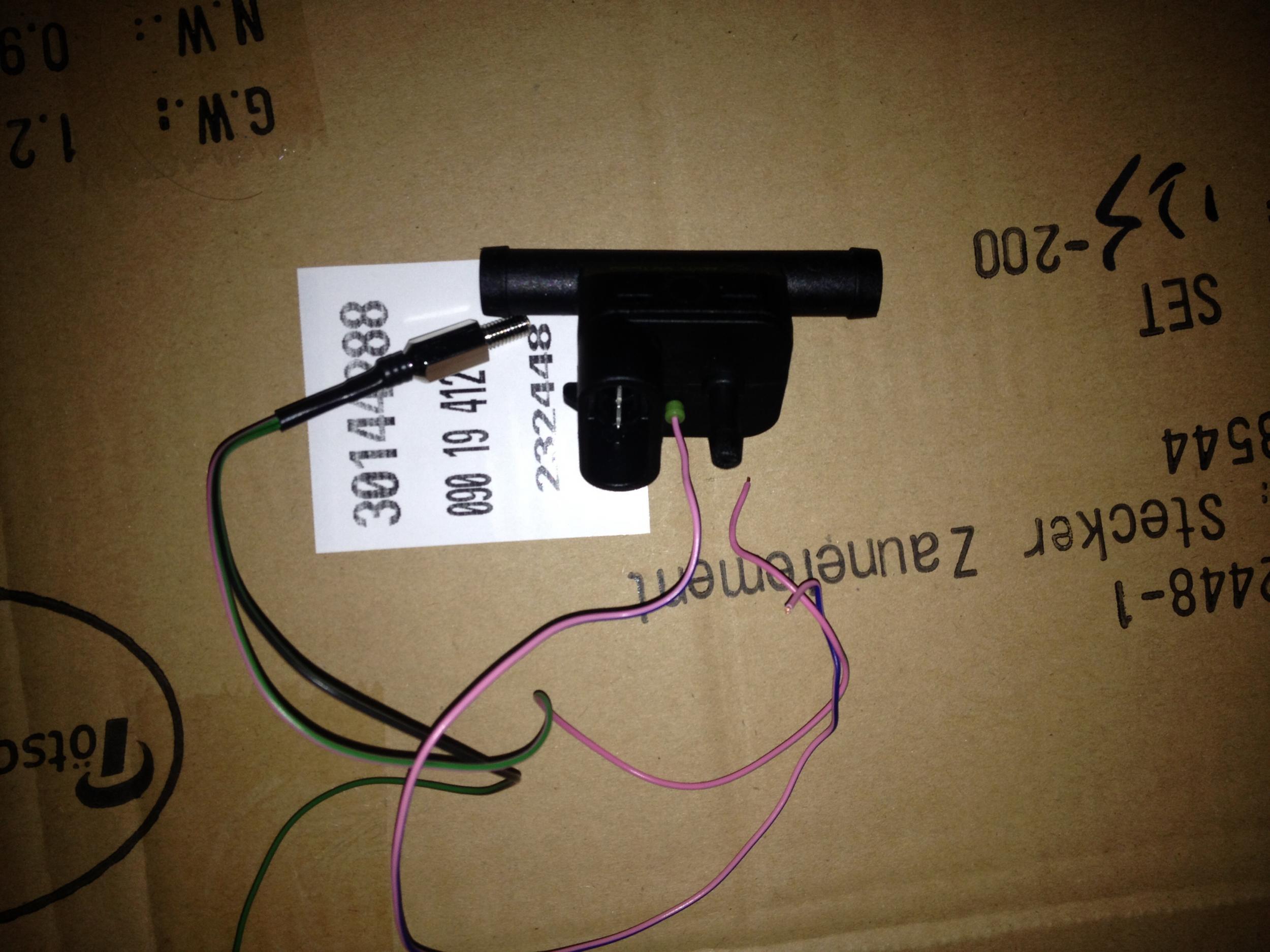 LPG Autogas KME Diego G3 Drucksensor Mapsensor PS-CCT6 Adapterkabel