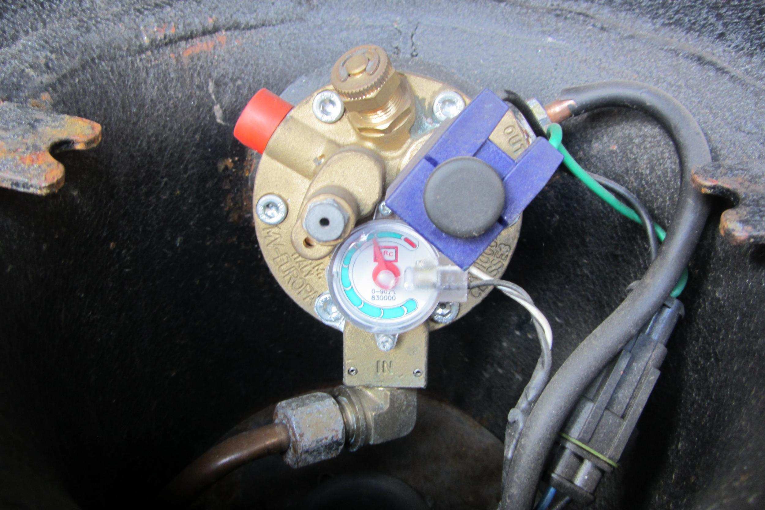 BRC- wie Magnetspule wechseln???